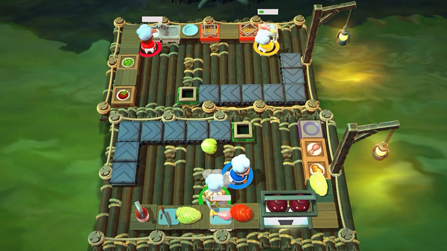 OVERCOOKED!,オーバークック,王国のフルコース,PS5,Team17,Ghost Town Games,GSE,